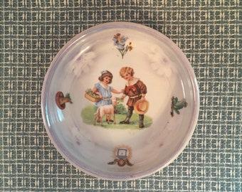 Vintage Child's Dish Bowl Germany Lustreware