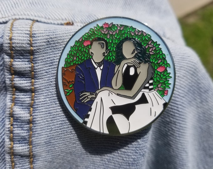 Peace Portrait Pin