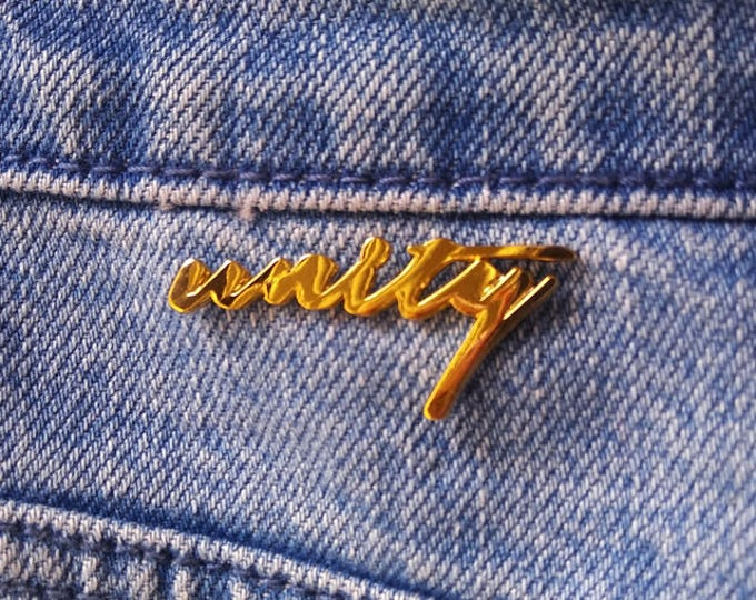 Unity Pin- Gold