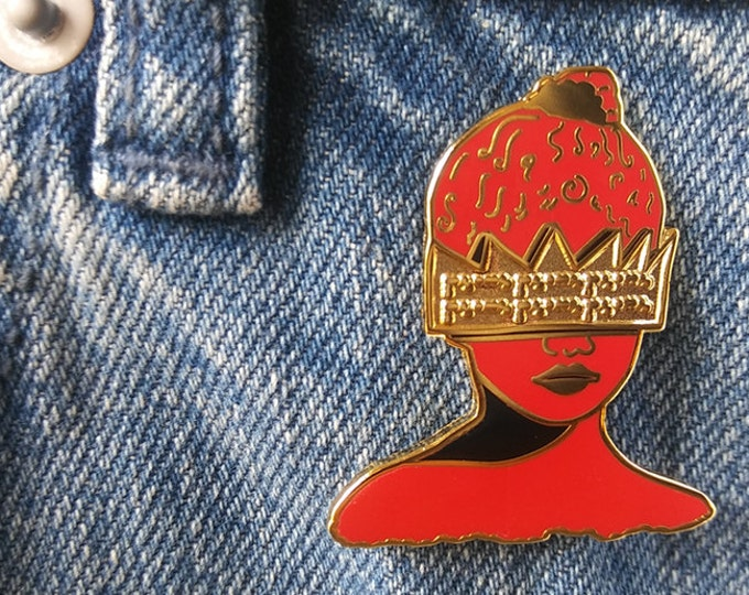 Get Ta Know Peace Pin