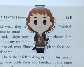 Jamie - Magnetic bookmark - Scottish Men || book lover gifts, out lander, bookmark, bookish, bookmarks, sassenach, magnetic bookmarks