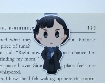 Sherlock - Magnetic bookmark - Sherlocked || sherlock holmes | book lover gifts | bookmark | bookish | bookmarks | magnetic bookmarks
