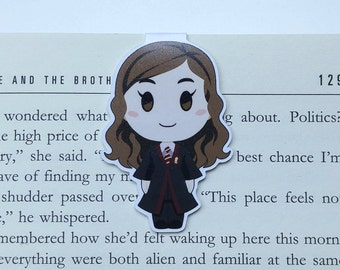 Hermione - Magnetic bookmark ||  hp inspired, book lover gifts, witchcraft, magic, wizard, always, wizardry, harry potter gift bookmark