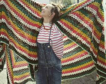 Vintage Blanket Oversize