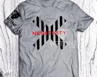 Block Negativity - Fortune Tee - Stripes - Adinkra