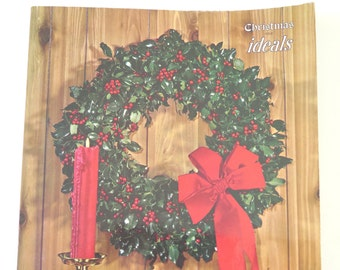 Ideals Christmas Issue, 1963, Vol. 20, No. 6, Vintage Ideals Poetry Magazine, Ideals Publishing Co., Milwaukee, Wisconsin