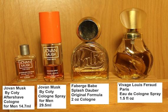 Vintage Fragrances Jovan Musk Cologne