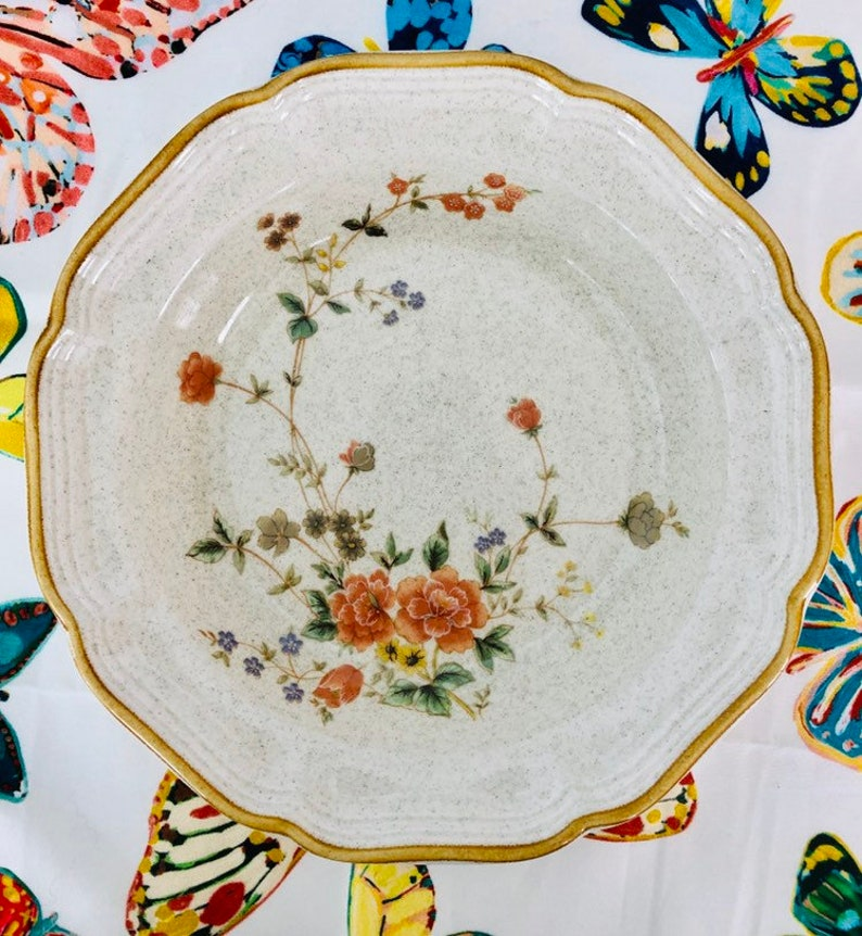 Mikasa Garden Club Silk Bouquet Soup Bowl