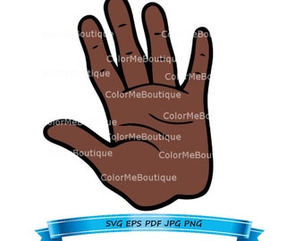 Hand (Style 1) Clipart