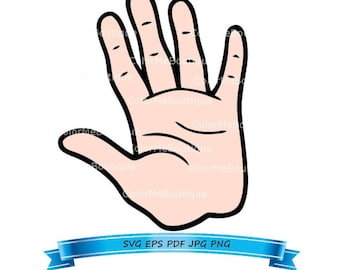 Hand (Style 3) Clipart