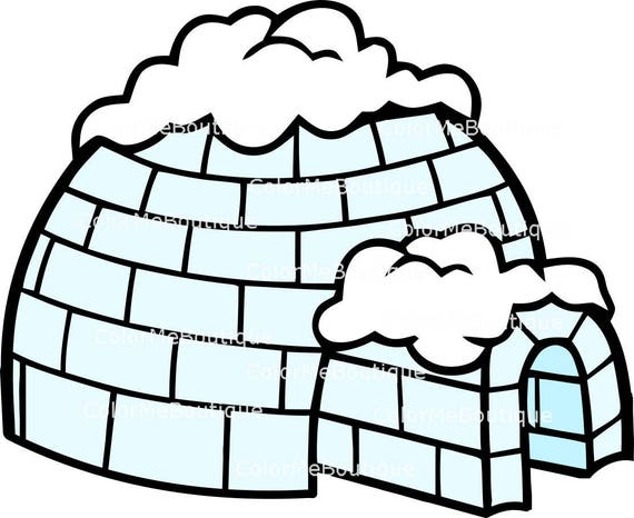 Igloo Clipart Etsy Download igloo images and photos. igloo clipart