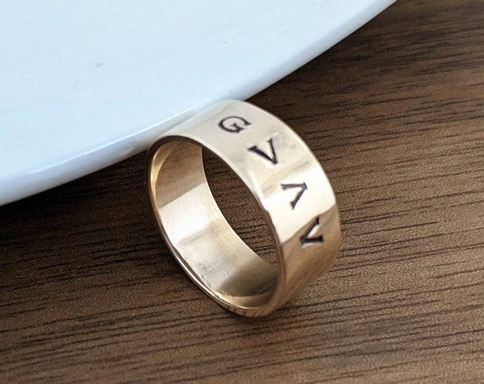 Personalized Ring, God is Greater Than the Highs and Lows, Religious Ring, Inspirational Jewelry, Gift for Her, Unique Gift, Custom Ring