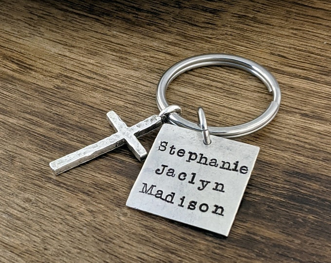 Father's Day Keychain, Personalized Mens, Gift for Husband, Gift for Him, Guy Gifts, Dad Keychain, Dad Gift, Father's Day Gift, Gift For Him