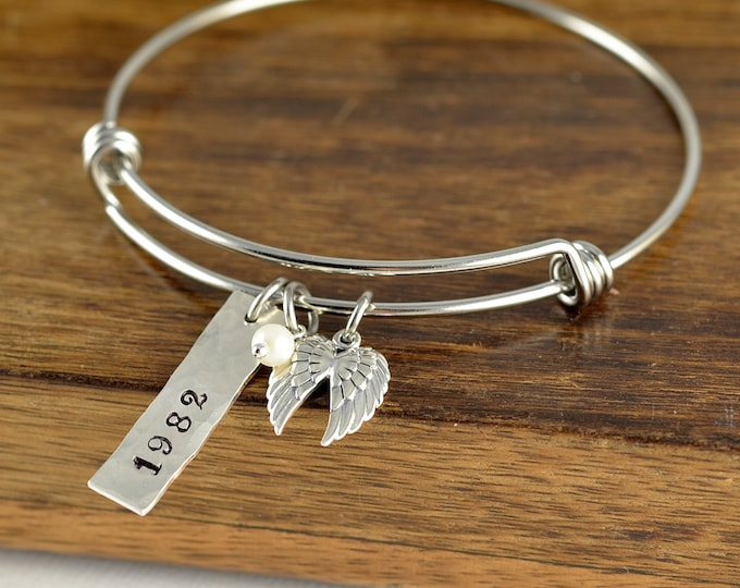 Wing Bracelet, Sympathy Gift, Memorial Bracelet, Memorial Jewelry, Remembrance Gifts, Loss Gift, Loss of Loved One
