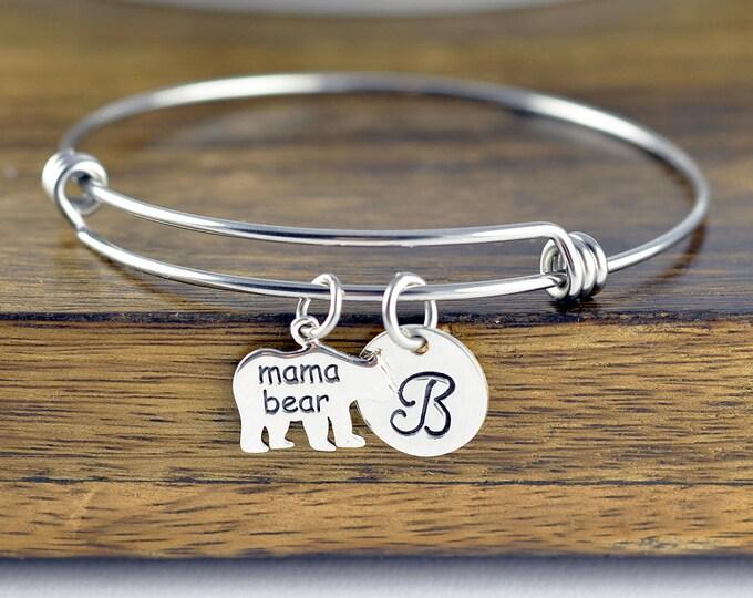 Mama Bear Bracelet - Mama Bear Jewelry - Bear Bracelet - Mama Bear Jewelry - Mothers Bracelet - Mom Bracelet - Mothers Day Gift