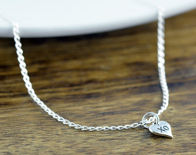 XO Jewelry, XO Necklace - XO Pendant - Hugs and Kisses - Wedding Gift - Valentines Gift - Valentines Necklace - Valentine