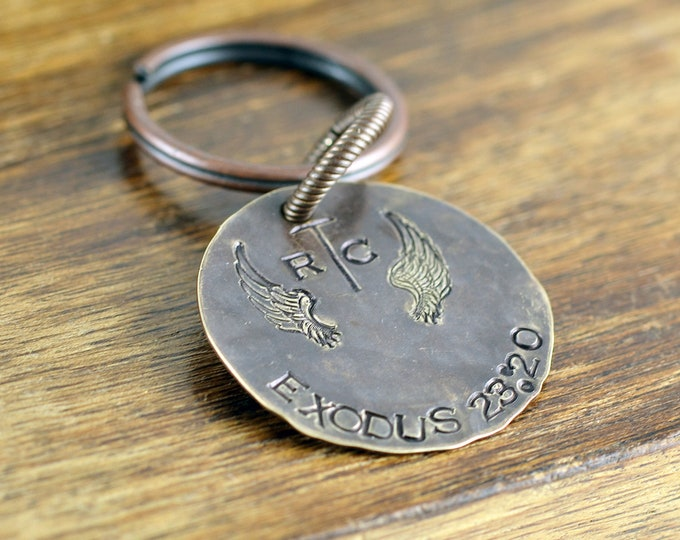 personalized memorial keychain, sympathy gift, memorial jewelry, in loving memory, remembrance gifts, bereavement gift, gift for him
