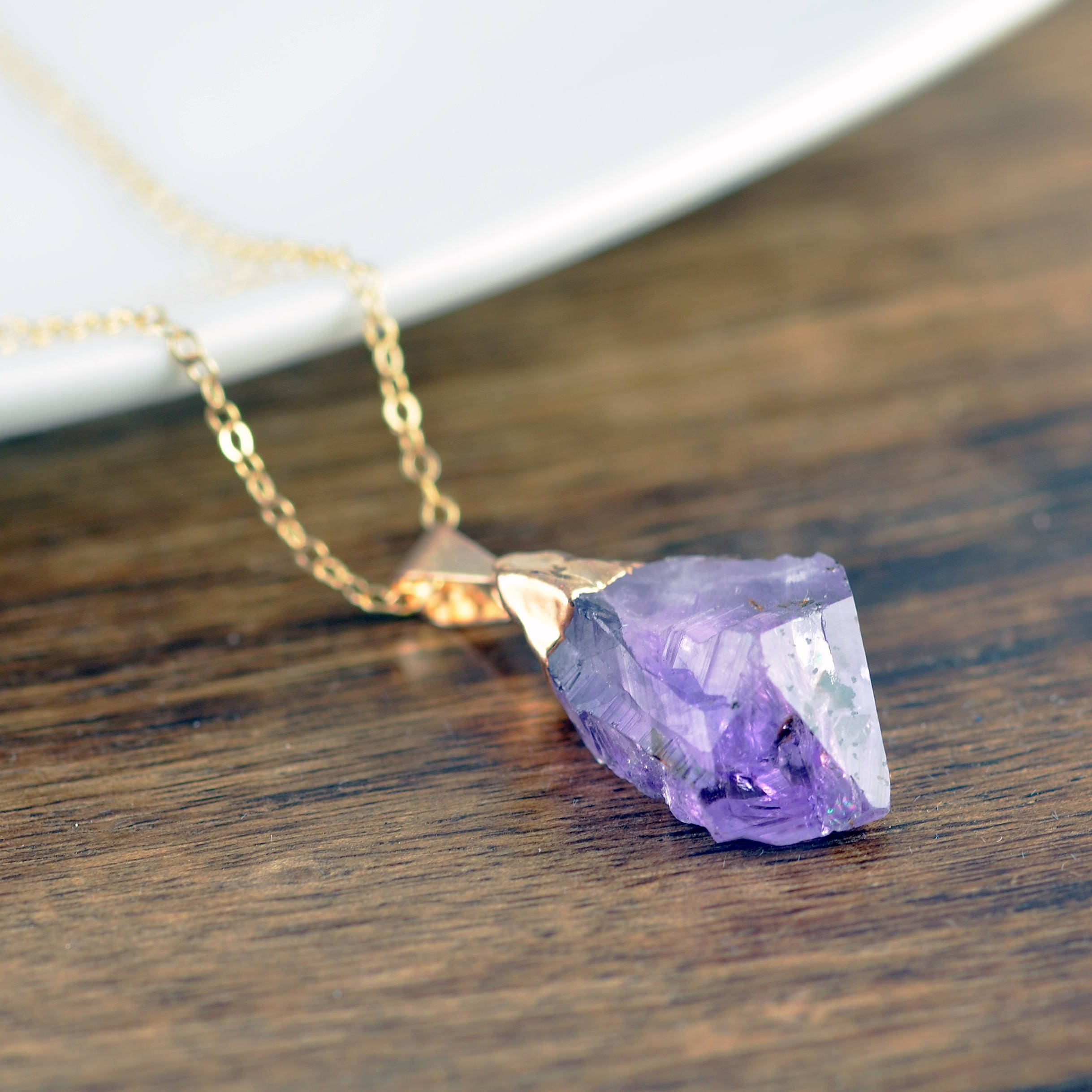 Amethyst crystal necklace amethyst necklace healing crystal amethyst crystal necklace amethyst necklace healing crystal necklace amethyst jewelry raw amethyst amethyst point pendant aloadofball Choice Image