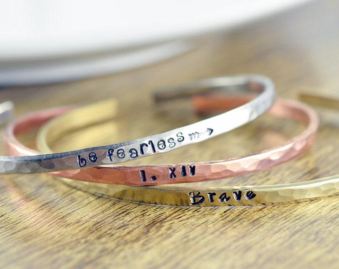 Bracelet Cuff, Personalized Cuff,Personalized Jewelry, Custom Bracelet, Inspirational Bracelet, Christmas Gifts for Her