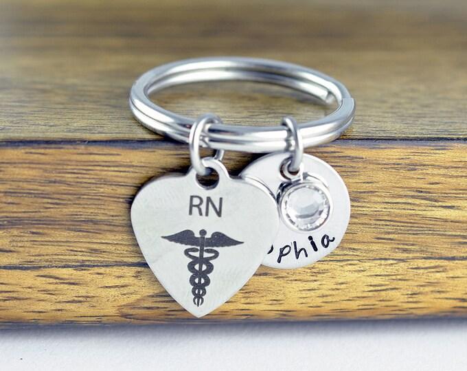 Nurse Gift - Gift for Nurse - Nurse Keychain - Graduation Gift - Nursing gift - RN gift - Nursing student - Nurse appreciation - Bff Gifts