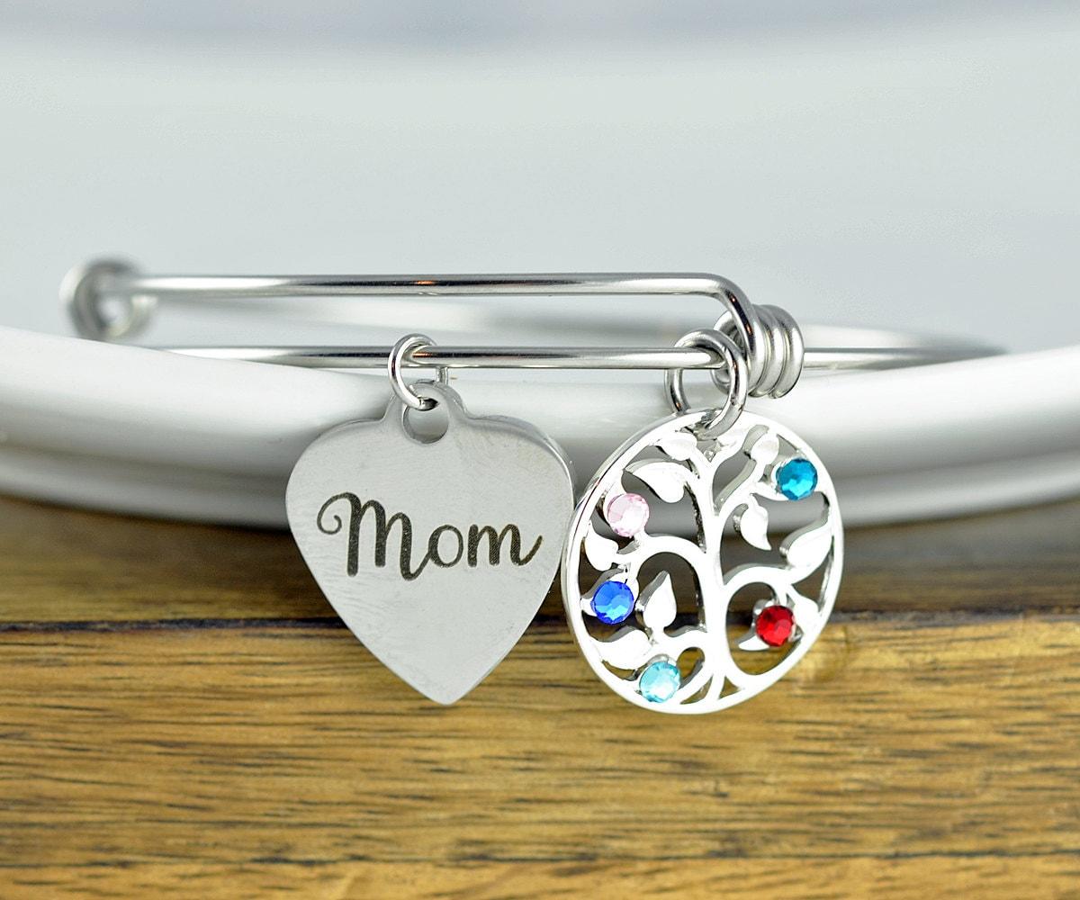 042aaf8af457 Mothers Birthstone Bracelet
