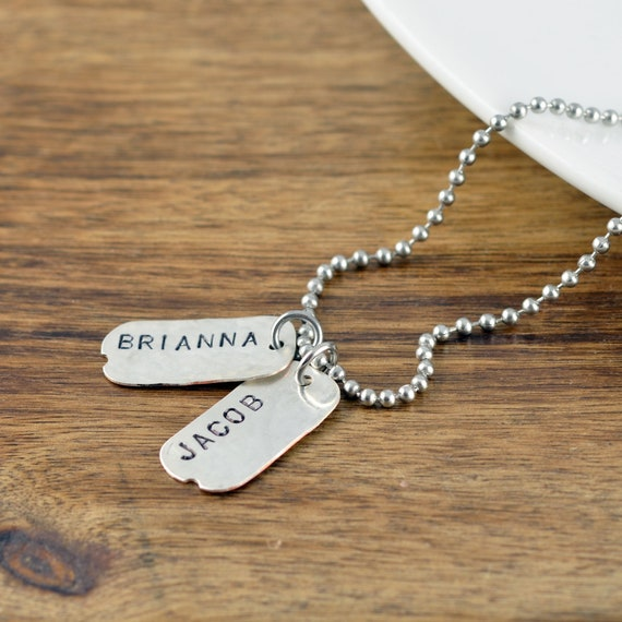 Personalized Father/'s Day Gift Mens Personalized Necklace Mens Gift Dad necklace Gift for Dad Mens Jewelry Daddy Gift