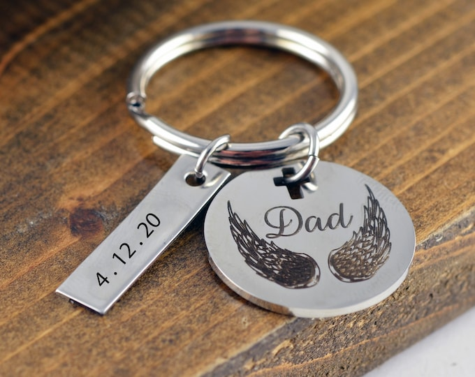 Loss of Father, Loss of Father Gift, Loss of Dad, Sympathy Gift, Grief Gift, Memory Gift, Memory Jewelry, Dad Memorial Gift
