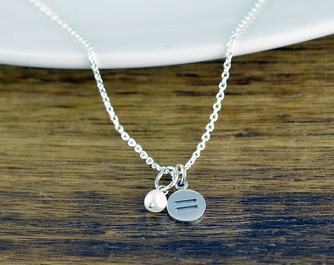 Equality Necklace, Equal Rights Jewelry, Equal Sign, LGBT Necklace, Allies Necklace, Gay Pride Necklace, Marriage Equality, LGBTQ Jewelry