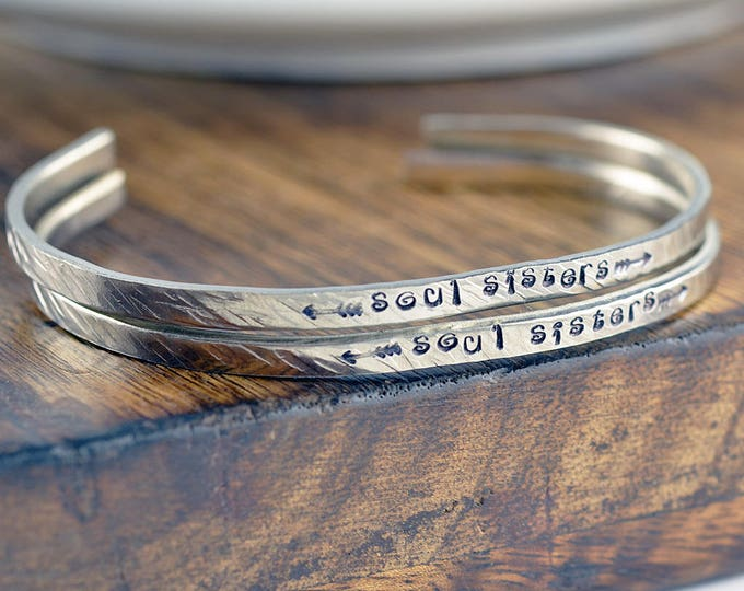 Soul Sister Gift, Soul Sister Bracelet, Friendship Bracelet, Best Friend Bracelet, souls sisters bracelets, Secret Message Jewelry