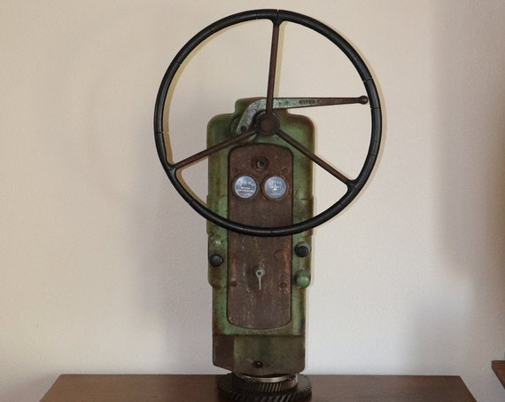 John Deere Tractor Dash Sculpture great for restaurant, man cave, shop, bar, can sit on a table or hang on the wall
