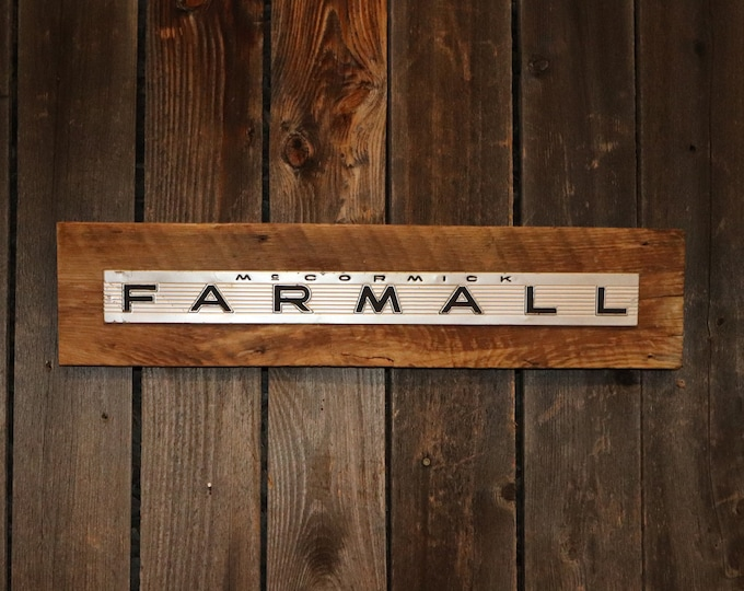 """Farmall Barn Board Sign 26"""", Great for decorating your home, man cave, shop, bar or restaurant."""