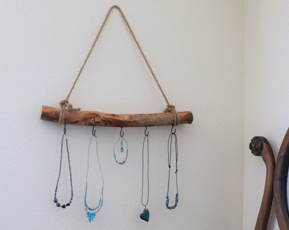 Jewelry Hanger / Necklace Hanger / Bow Hanger / Headband Hanger with Rustic Country Charm
