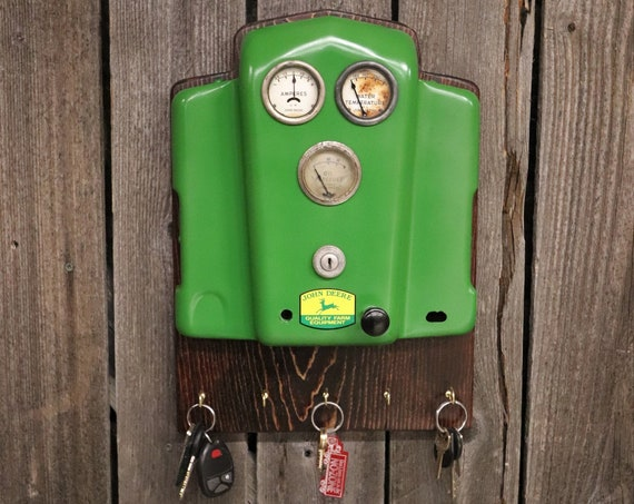 John Deere Tractor Dash Key Holder