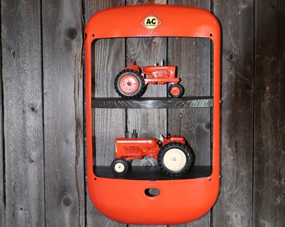 Allis Chalmers Tractor Grill Shelves - Tractor Grill Wall Art - Shop -  Farmer -Man Cave - Garage  decor - Wall Decor - Bar - Restaurant