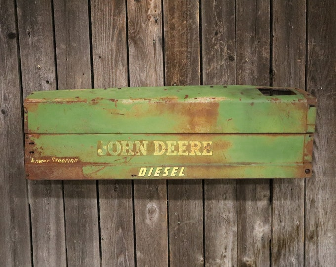 John Deere Tractor Panel Light/Tractor Grill - Farmhouse chic Would look great in living room, shop, game room, bar, man cave, or restaurant