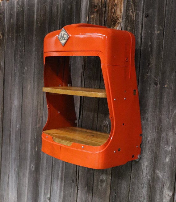 Allis Chalmers - Tractor Grill Shelves - Man Cave Shelves - Vintage Tractor Grill - Tractor Grill Shelf - Farmer - Country Decor