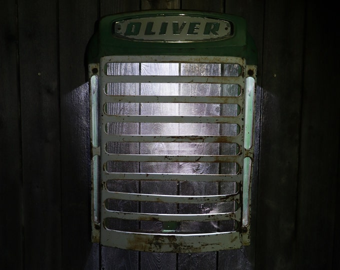 Vintage Oliver 770 Tractor Grill for your bar, restaurant, man cave, or Farmhouse look