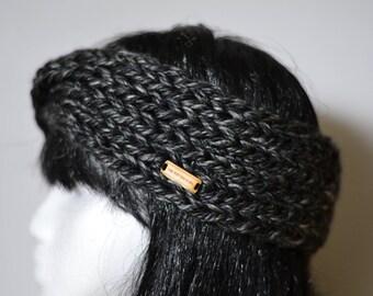 Chunky Cabled Knit Headband | Adult Knit Ear Warmers | Handmade Knit Headband | The 'Boho' Headband