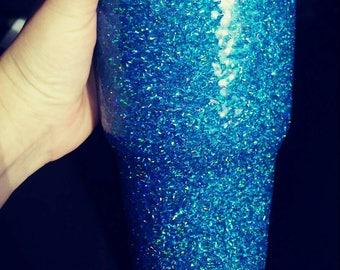 30 oz Blue Holographic Tumbler