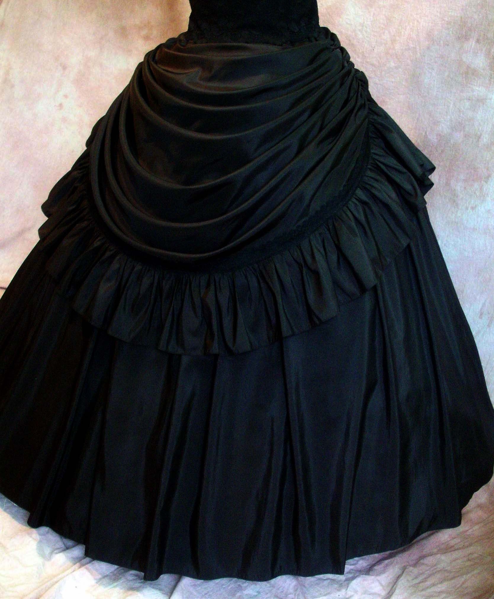 ATELIER COCON Sissi Western Gothic Crinoline Ball Gown skirt ...