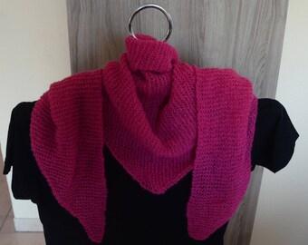 Knitting scarf