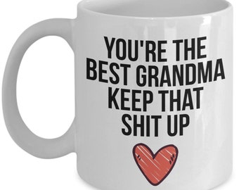 Grandma Mug Gift For Christmas Birthday Funny Present