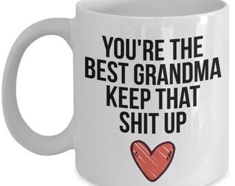 Grandma Mug Grandma Gift Gift for Grandma Grandma Christmas Gift Grandma Birthday Gift Funny Grandma Gift Grandma Present  sc 1 st  Etsy & Grandma christmas | Etsy