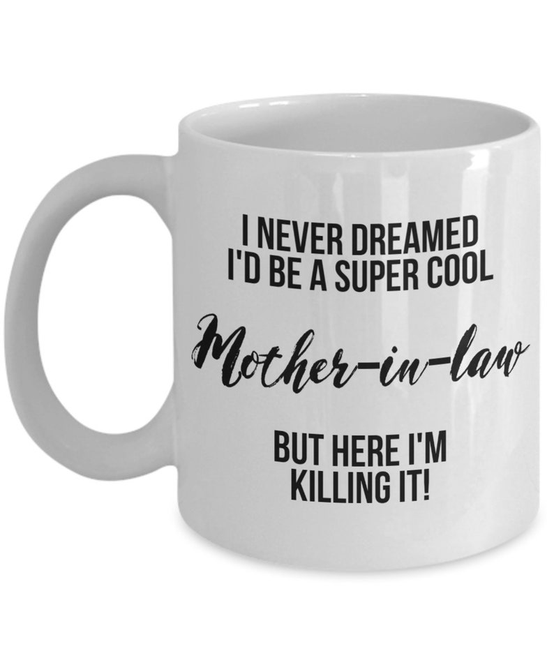 Mother In Law Mug Gift For Christmas Birthday Funny