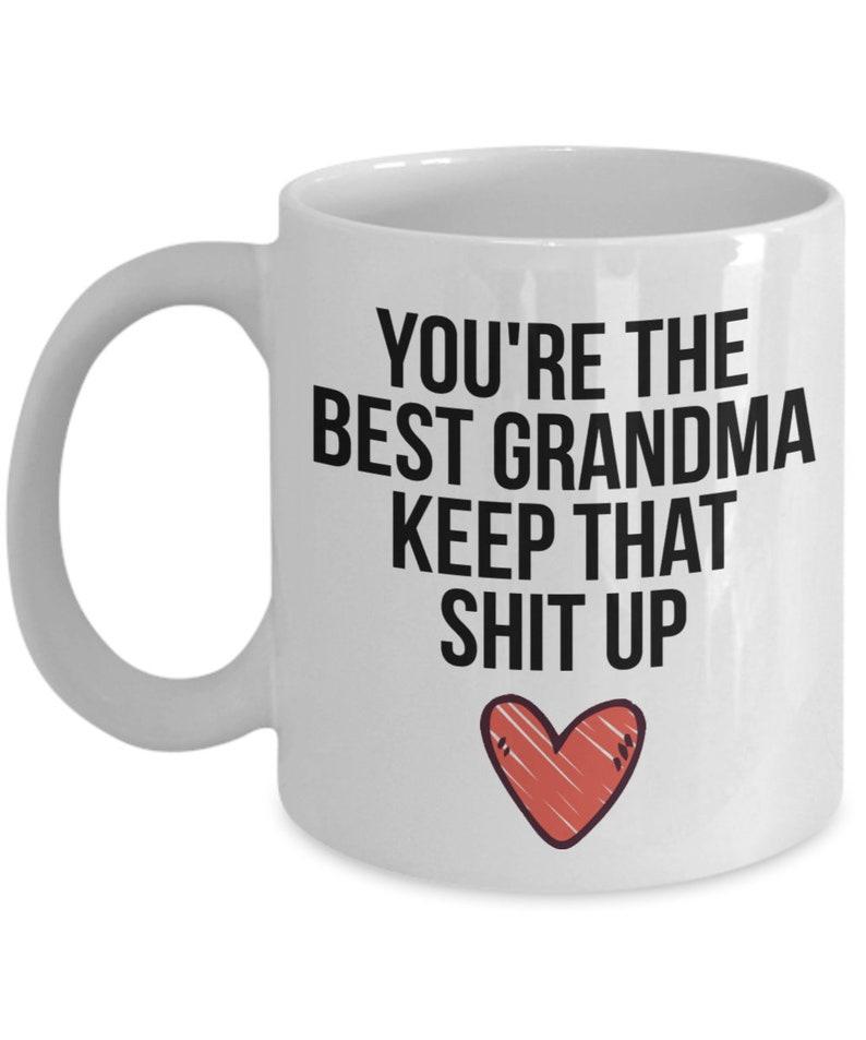 Grandma Mug Gift For Christmas Birthday Funny Present