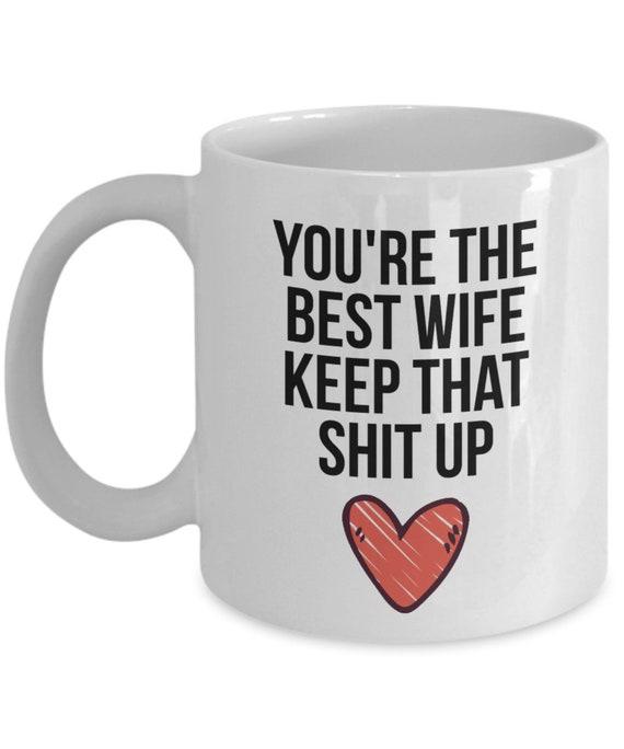Great Christmas Gifts For Wife.Wife Mug Wife Gift Gift For Wife Wife Christmas Gift Wife Etsy