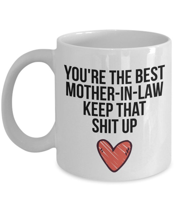 Mother In Law Mug Gift For