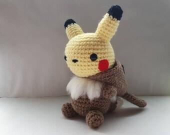 Crochet Rhydon Inspired Chibi Pokemon | Pokemon crochet pattern ... | 270x340