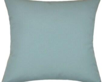 Sunbrella Fabric Canvas Mineral Blue IndoorOutdoor Fabric