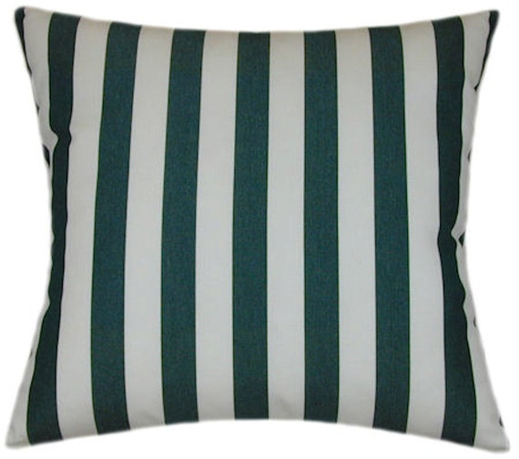 Outdoor Striped Pillow
